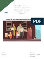 Posibles soluciones a las problemáticas de la marginalidad y pobreza en Venezuela