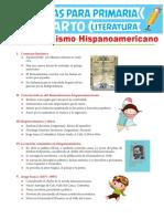El Romanticismo Hispanoamericano Para Cuarto Grado de Primaria