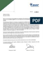 Lettre du ministre de l'Intérieur et du président de l'AMF aux maires de France