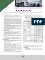 Convocatoria para ingreso a licenciaturas escolarizadas 2021 (Pedagogía, Psicología Educativa, Educación Indígena))