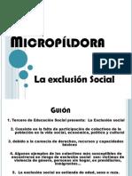 micropildora LA EXCLUSIÓN SOCIAL