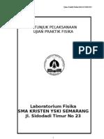 Ujian Praktek Fisika 2011 SMA YSKI