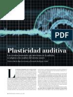 Plasticidad auditiva