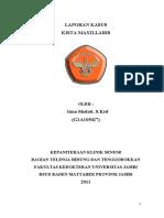 LapSus Kista maxilaris