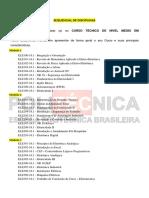 Sequencial de Disciplinas Eletrotécnica (1)
