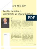 CURY - AUTONOMIA E GESTÃO