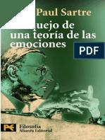 Sartre, Jean-Paul (2005) - Bosquejo de una teoría de las emociones