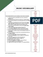 MUSIC-VOCABULARY
