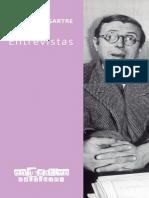 Sartre, Jean-Paul (2019) - Entrevistas