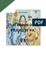 49 ODDUN DE PELIGRO DE IFA
