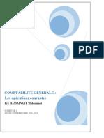 COMPTABILITE GENERALE _ Les opérations courantes. Pr _ HASSAINATE Mohammed - PDF Free Download