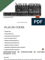 10- Administration Linux - Administration Du Gestionnaire de Volumes Logiques – LVM
