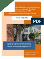 Guía de Organización y Funcionamiento de Centros
