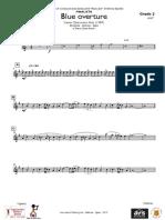 BLUEO_OBERTURE - Trompeta - 1 Si b