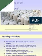 ppt on Material Safety by Madhu Rana and Nitika Raghav