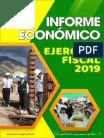 INFORME ECONOMICO EJERCICIO FISCAL 2019 MELGAR