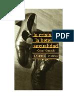 Guasch Oscar - La Crisis de La Heterosexualidad