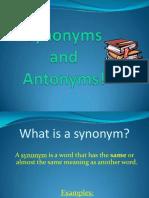 synonymandantonympowerpoint