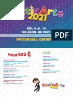 Programación Festinarte 2021 en PDF