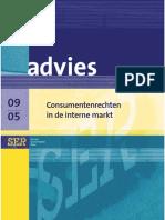advies consumentenrechten sociaal ecoraad