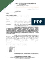 Solicitud Reconocimiento Comité Pro Distritalizacion