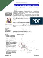 Chapitre 3 Intro à la programmation linéaire