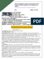 Compr'Hension Orale P02 S01 3AM