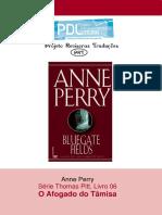 Anne Perry - Série Pitt 06 - O Afogado Do Tâmisa