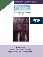 Anne Perry - Série Pitt 12 - Chantagem Em Belgrave Square