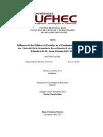 28-03-2020 TESIS ORIENTACION Influencia de los Hábitos de Estudios