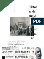 Historia Del Movimiento Obrero Peruano