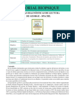 LEN 05 Escalas Diagnosticas de Lectura de George SPACHE