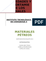Materiales ptreos