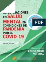 Investigaciones en salud mental en Pandemia