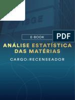 E-book-Analise-Estatistica-das-Materias-RecenseadorACMS-e-ACS-IBGE-Pos-Edital-CARGO-RECENSEADOR