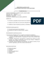 plano de aula ifma josiane