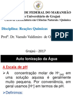 AULA - ÁCIDO-BASE - Reacoes Quimicas