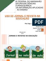 Seminario Uso de Jornais e Revistas Na Educacao