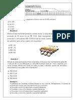 AVALIAÇÃO DE MATEMÁTICA - 6º ANO