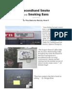 Kansas Smoking Ban Booklet - Sheila Martin