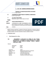 Carta N 0... Informe Aprobacion AD