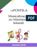 Apostila Musicalização no Ministério Infantil
