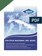 Politica nacional del agua