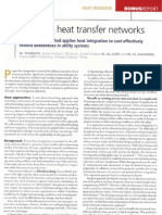 Hydrocarbon Processing - Optimize heat transfer networks