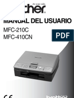 Manual Brother MFC 210 C