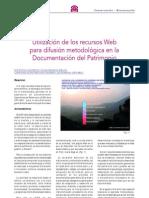 Valle, J.M. y Rodríguez, A. Utilización recursos web documentación P. 2006