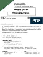 334973842 10 Exercices en Comptabilit Analytique EFM Et Corri