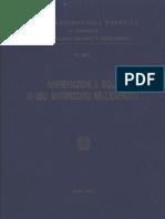 Abbreviazioni e Sigle di uso autorizzato nell'Esercito (5867) 1996