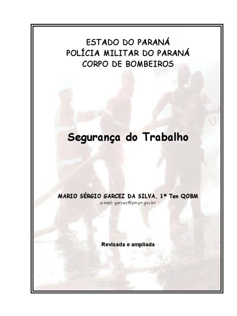 APOSTILA SEGURANÇA TRABALHO BOMBEIRO MILITAR 968a3d73bc