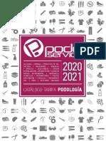 catalogo podoservice 2020